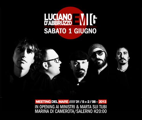 Luciano D'Abbruzzo e MIG al Meeting del Mare 2013