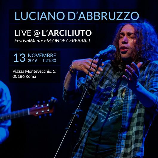 Live Teatro Arciliuto Roma 13 nov 2016